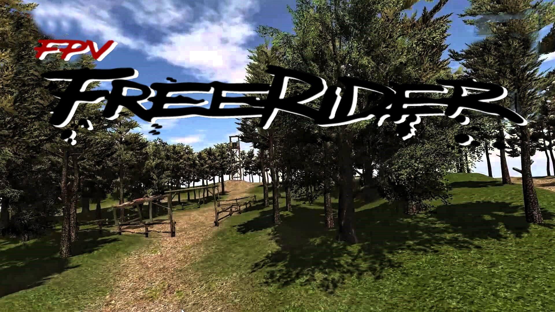 freerider-splash fpv racingdrone drohne simulator