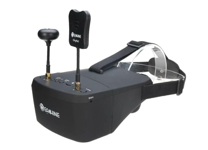 Eachine EV800D FPV Brille Glasses Racing FPVRacingdrone Drohne Anfänger Einsteiger