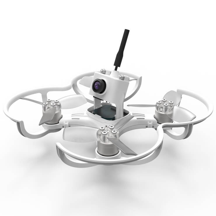 EMAX Babyhawk FPV Racing Drohne Drone FPVRacingdrone Camera White DRL Fatshark Goggles