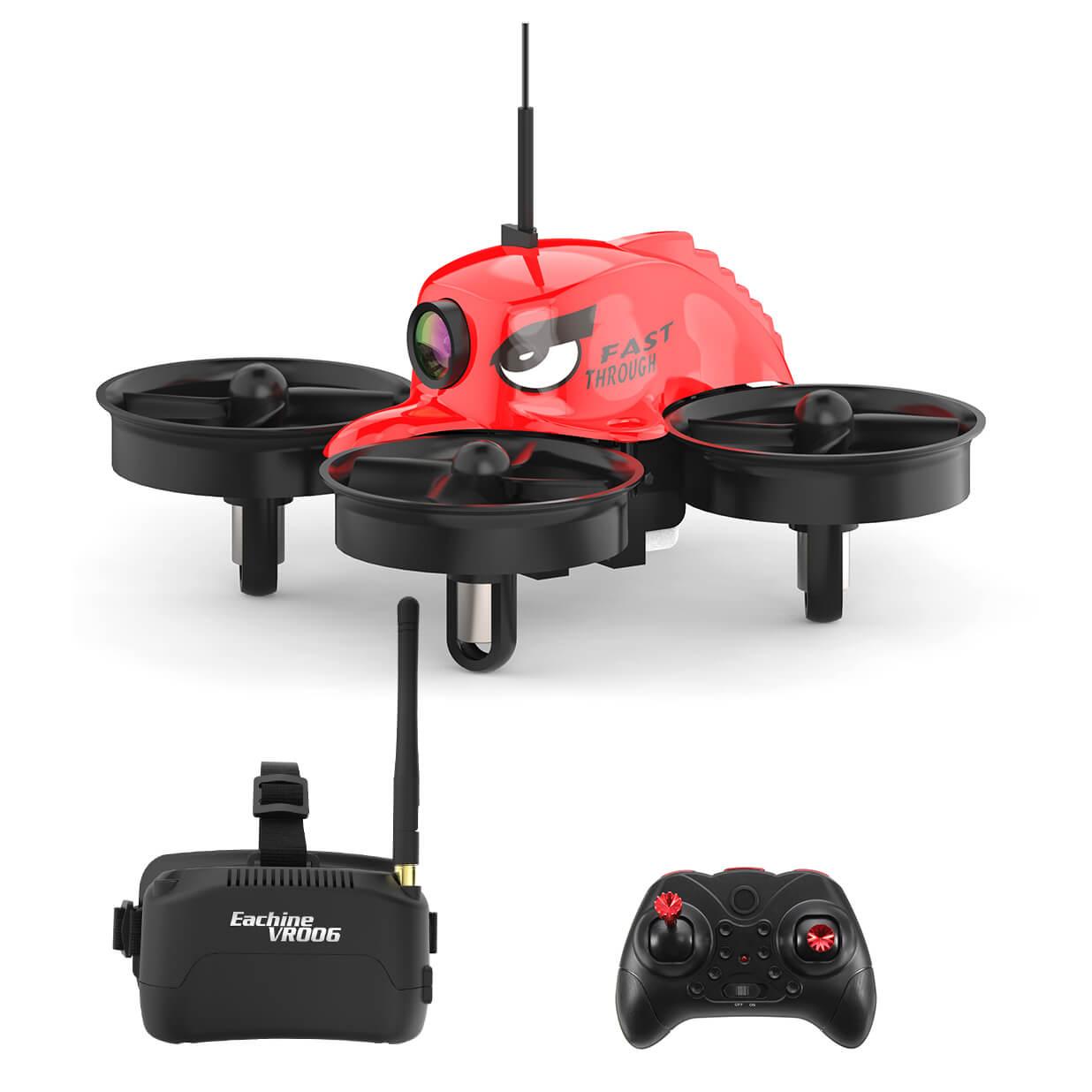 Eachine E013C Kit FPV Racing Drohne Drone FPVRacingDrone Goggles Remote FUnke Brille VR