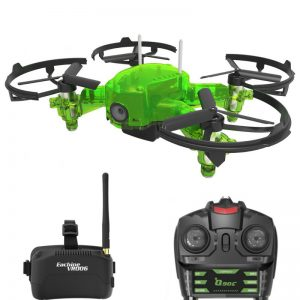 Eachine Q90C Flyingfrog Frog 02 Kit Brille Funke Remote Goggles fatshark fpv racer drohne drone fpvracingdrone