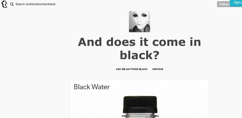 anddoesitcomeinblack.tumblr.com Black Design Minimalism Does it come in Black