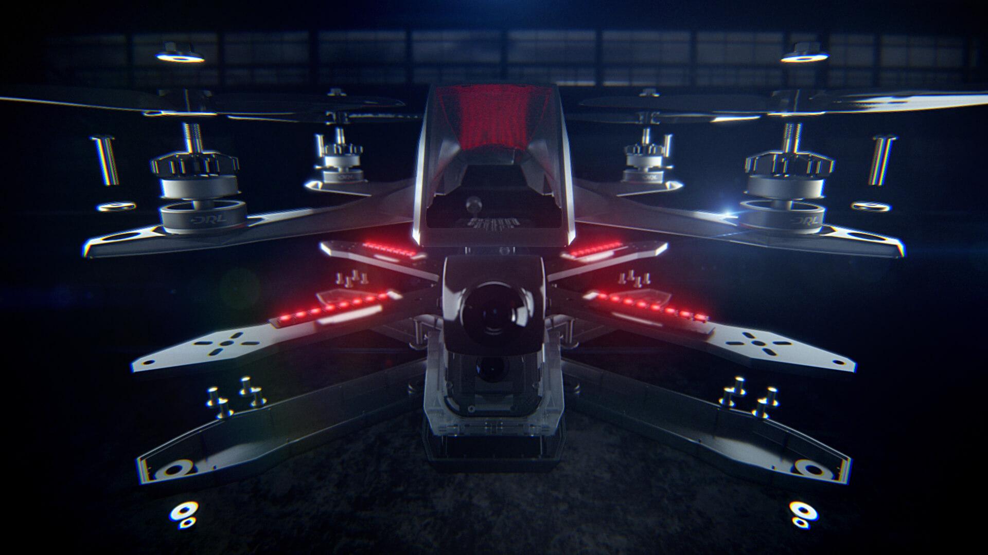 DRL R3 Racer 3 Racing Drone Drohne Parts Teile Spezifikation fpvracingdrone.de