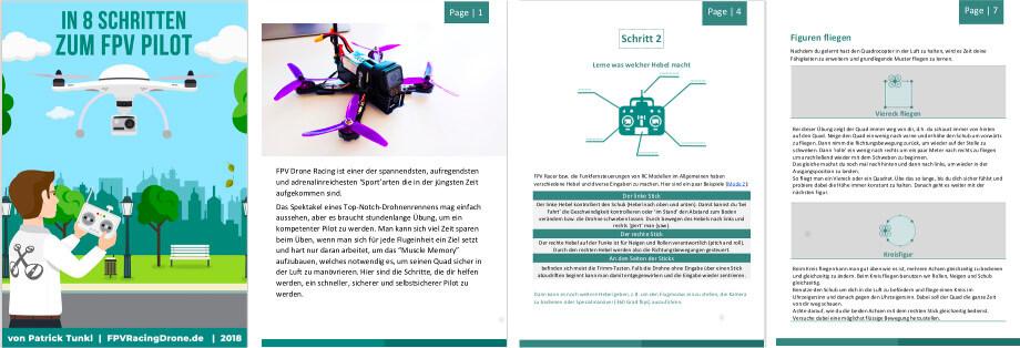 FPV Drohnen fliegen lernen - Das Buch zum Download