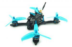 HGLRC XJB-145 3 Inch FPV racing drone blue blau Drohne gopro fpvracingdrone