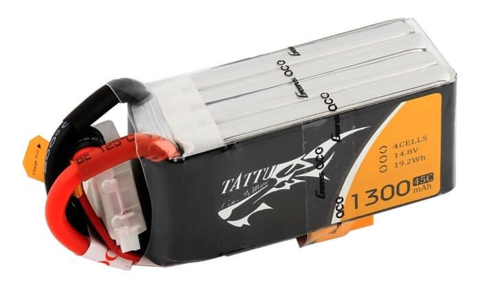 Tattu 1300mAh S4 LiPo FPV Racing Drohnen Akku FPVRacingDrone