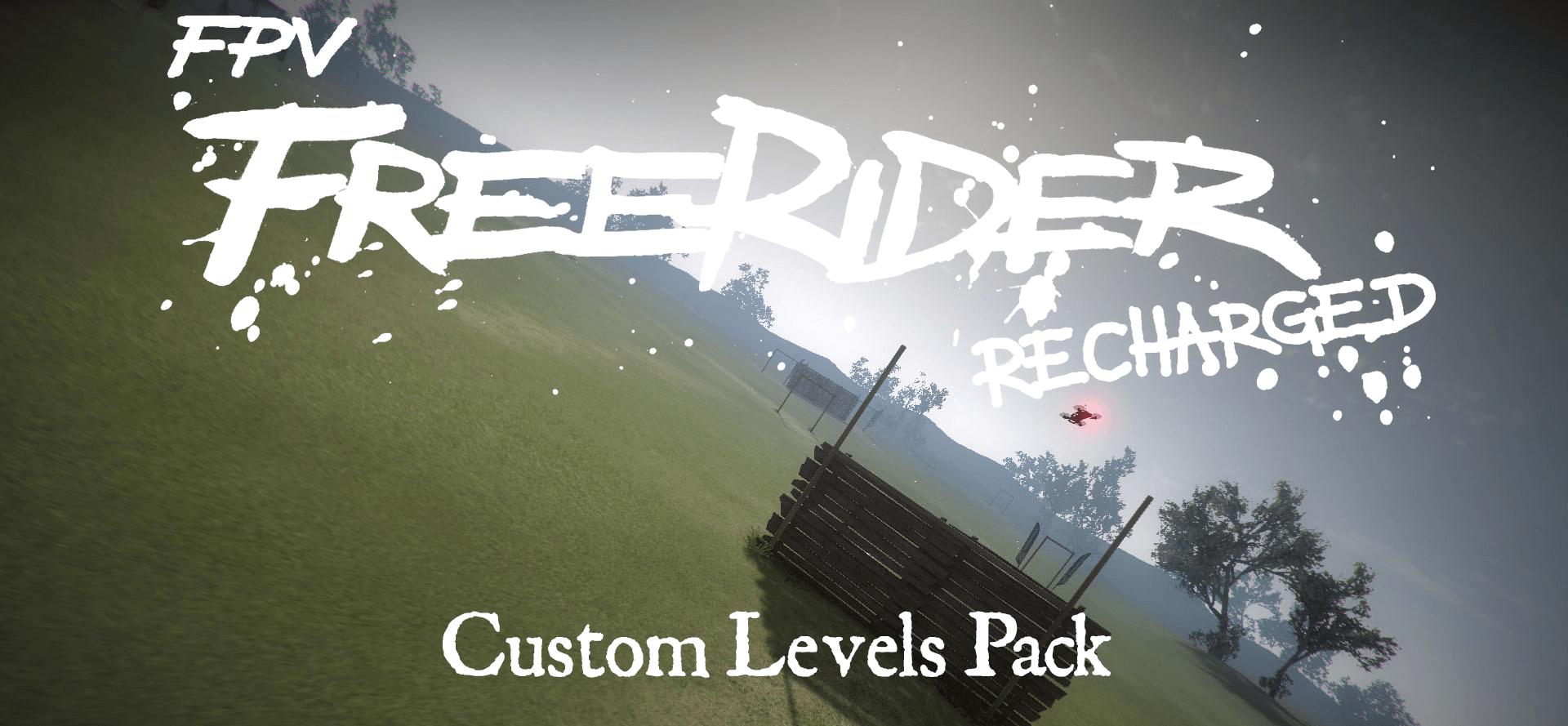 FPV Freerider Recharged Custom Maps Pack Logo