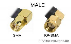 SMA Male vs RP SMA Male FPV