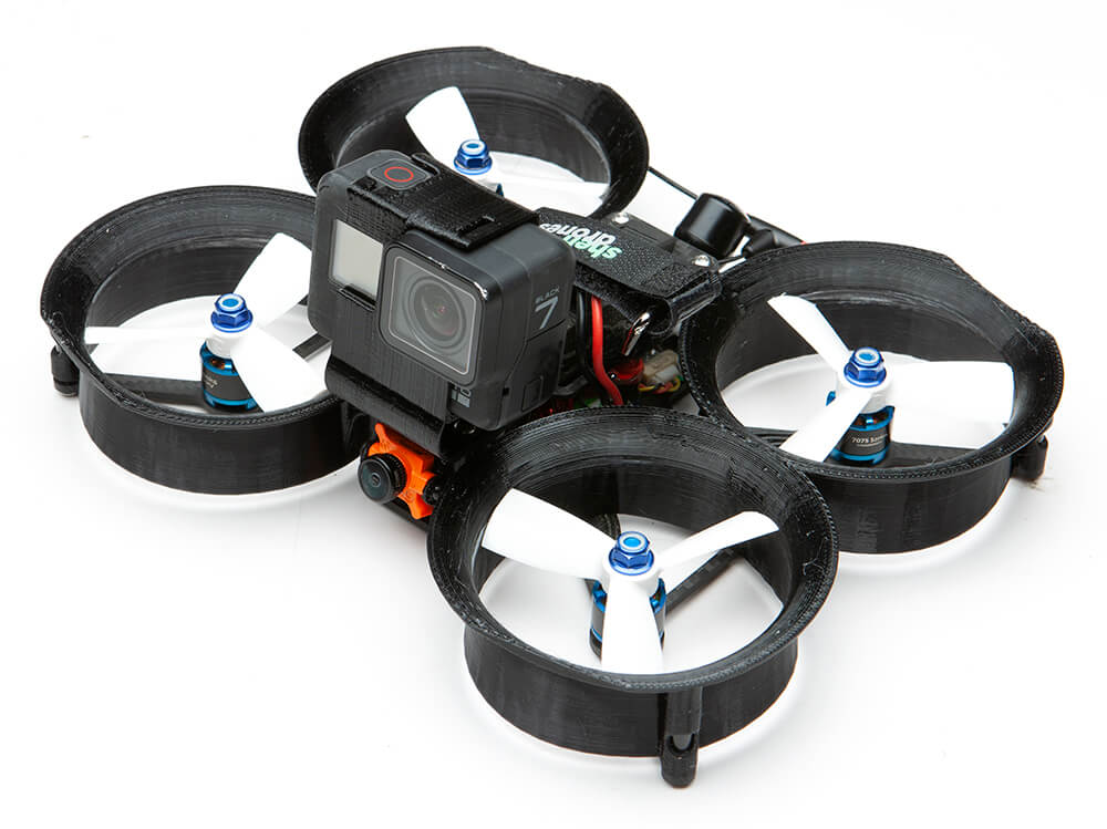 Shendrones Squirt v2 CineWhoop FPV Racing Drohne mit GoPro