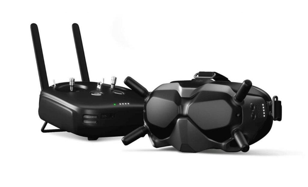 DJI Digital FPV System - Brille und Funke